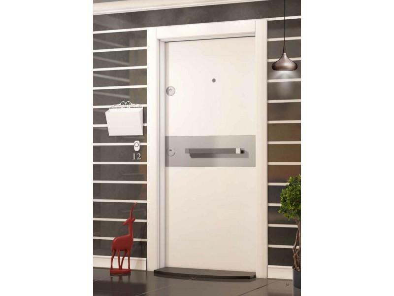 Входна врата Crystal CR03 White/Chrome