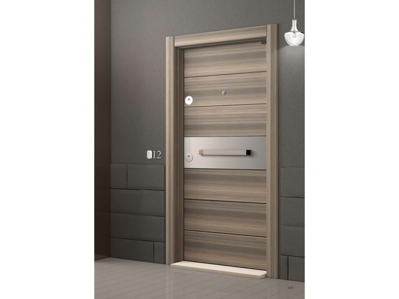 Врата Laminox L613 Мистик/Инокс