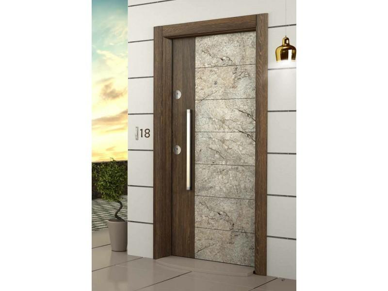 Врата Elegance EG567 Marble/Gold Oak