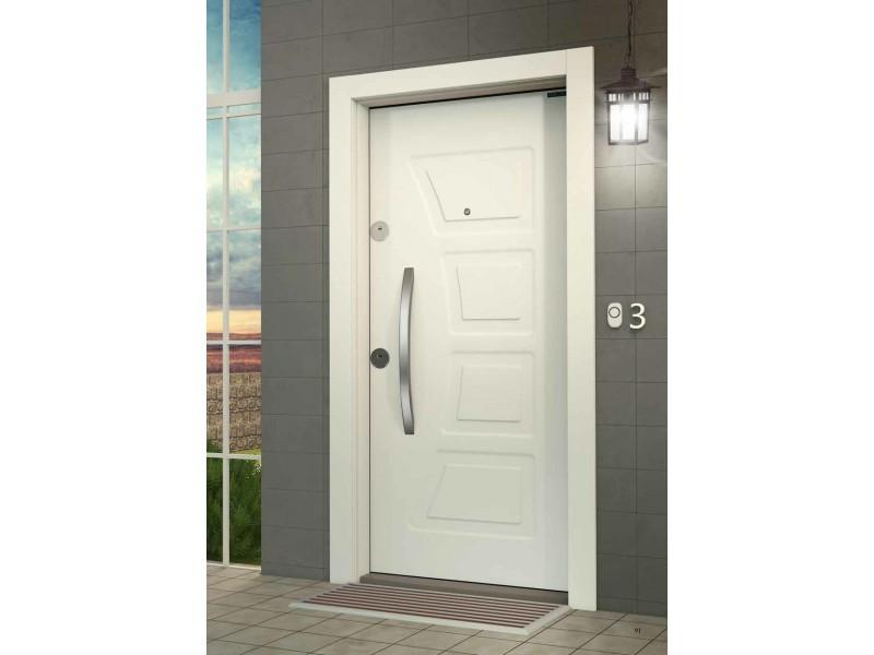 Входна врата Outdoor LP03 White