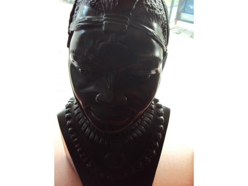 """Статуетка """"Африкански жител""""  ID 7678"""