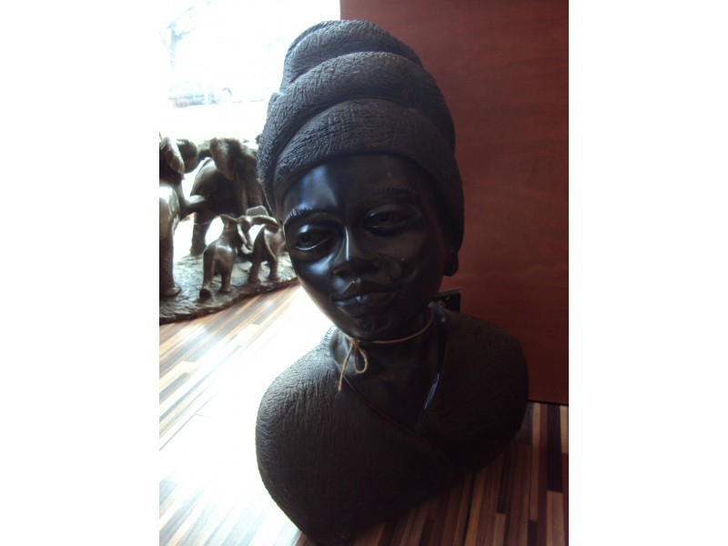 """Статуетка """" Африканка """"  ID 65888"""