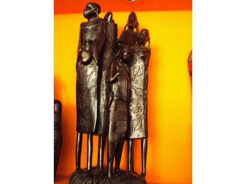 """Статуетка """"Семейство масаи""""  ID 567676"""