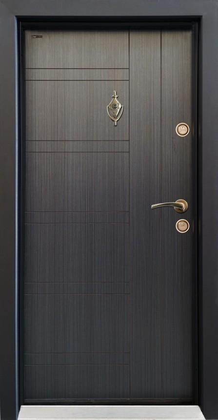 Входна врата Паркдор SL101 Черна Перла
