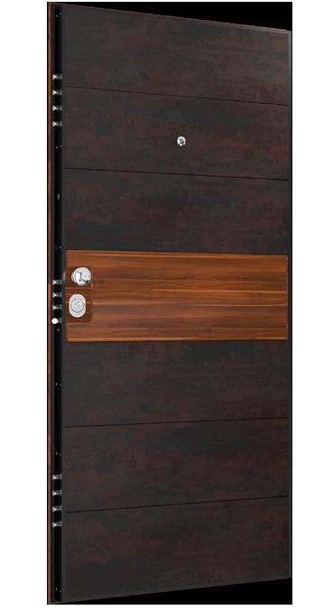Входна врата Granite GR01 Flame/Apple