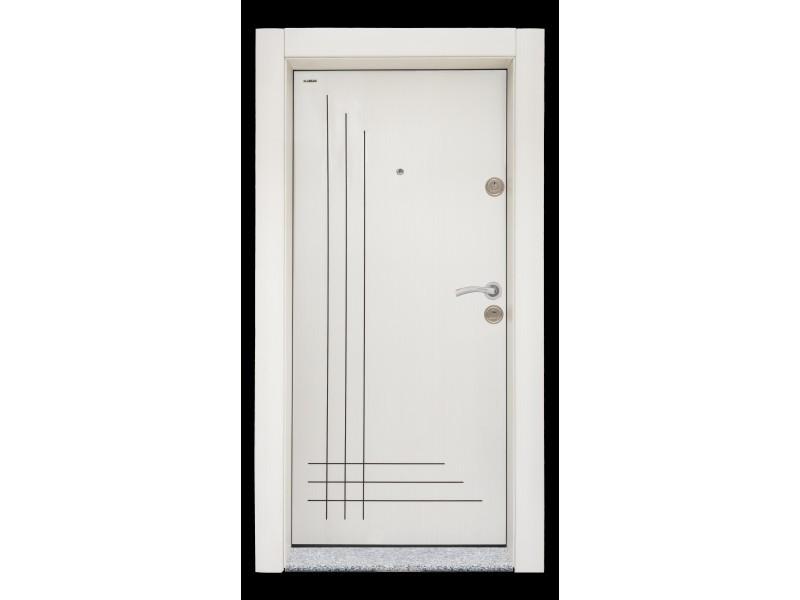 Входна врата Старлайф SL-204 Бяла перла