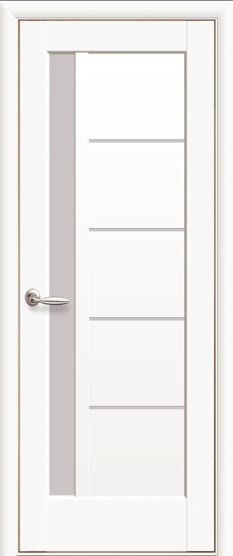 Интериорна врата Мира Бял мат (White)