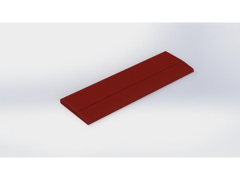 Каучукова плоча MB0008 Orange 30мм.