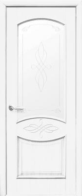 Интерирона врата Донна – Бял