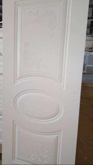 Интериорна врата (Руска) Доменика D7 – цвят Бял Дъб