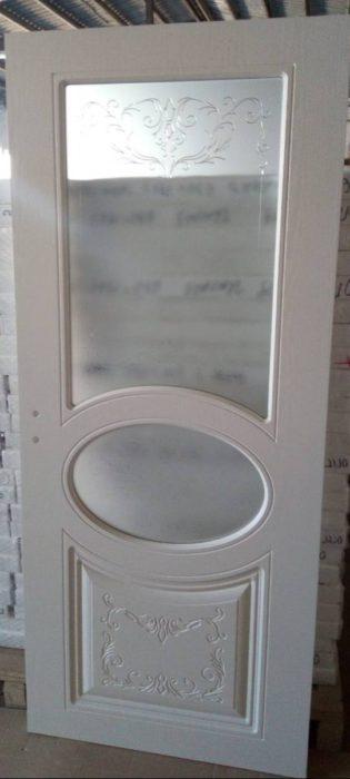 Интериорна врата (Руска) Доменика D5-2 – цвят Бял Дъб