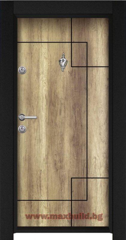 Входна врата турска Паркдор 44 Светъл отантик