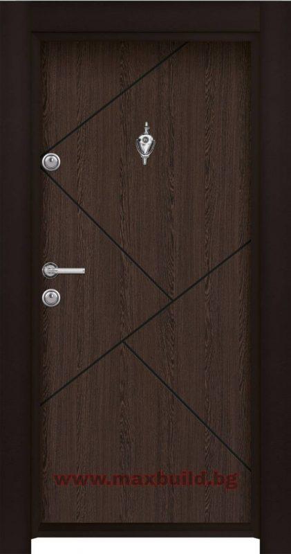 Входна врата турска Паркдор 06 Венге