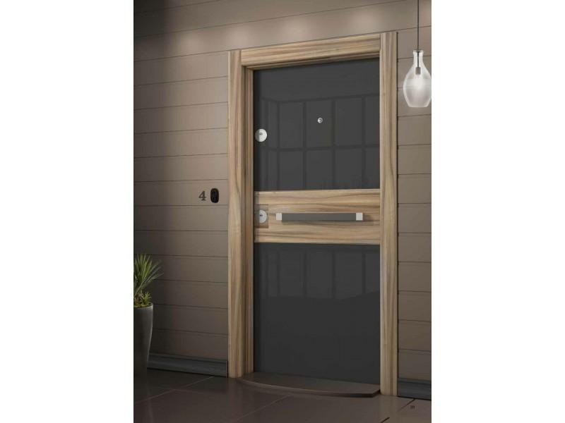 Входна врата Crystal CR03 Antracite