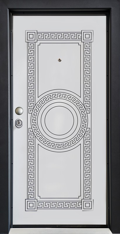 Входна врата Doga SL-100 Бяла Перла