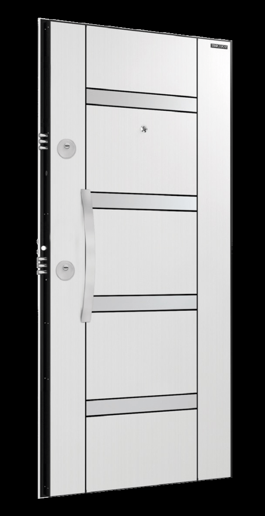 Врата Laminox L200 White Pearl