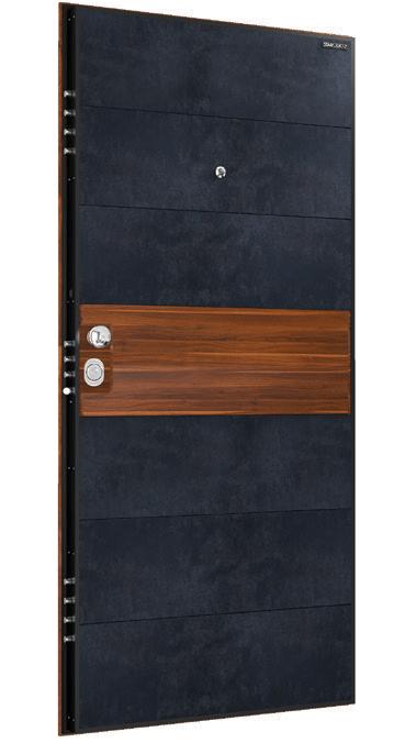 Входна врата Granite GR01 Petrol/Apple