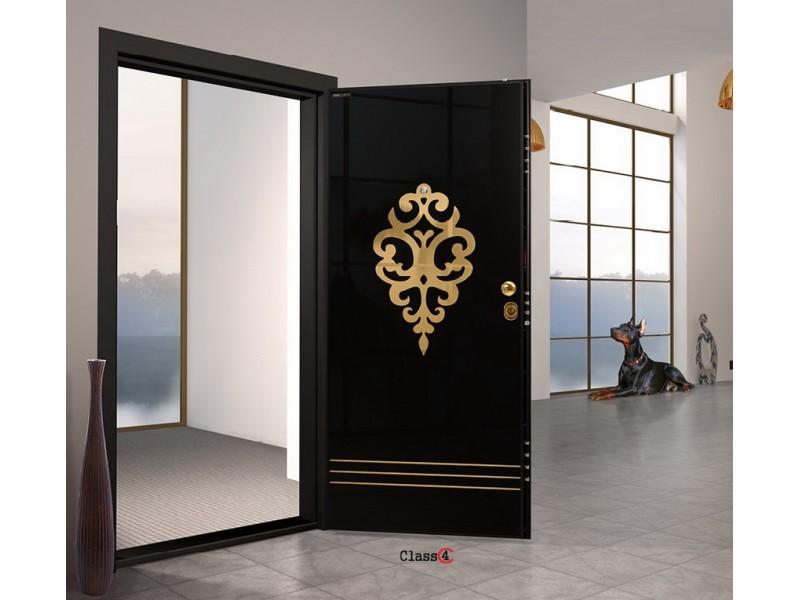 Входна врата Laminart 727 HG Black Gold