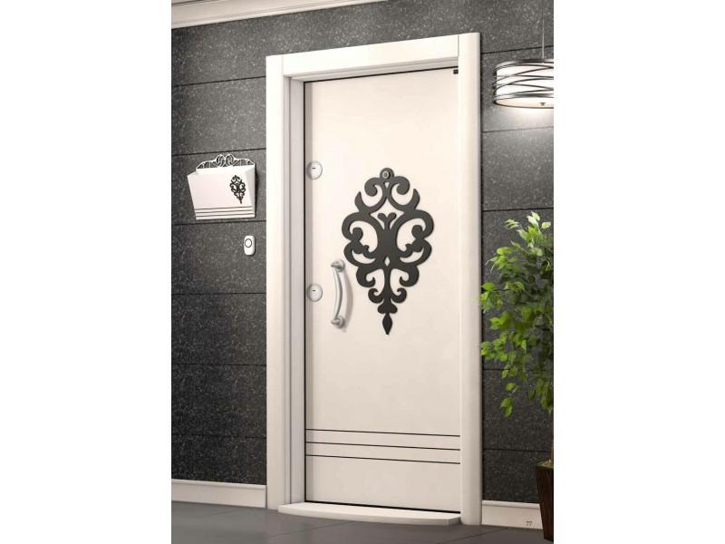 Входна врата Laminart 726 HG White/Black