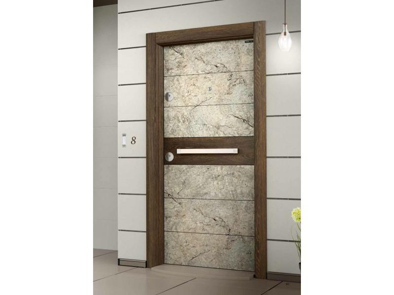 Врата Elegance EG565 Marble/Gold Oak  ID ЕГ- 565