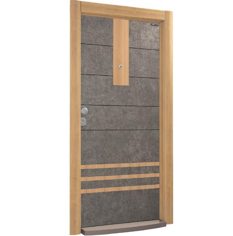 Входна врата Granite GR01 Flame Apple