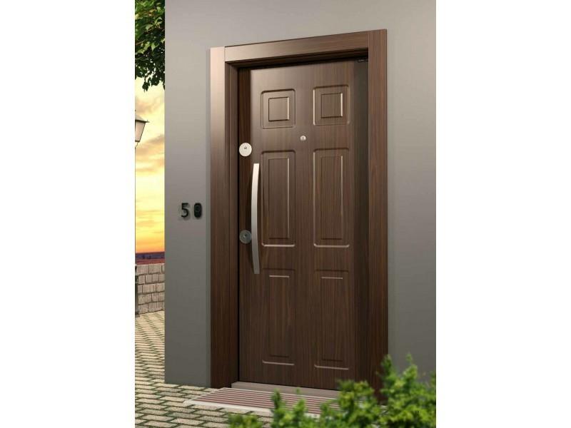 Входна врата Outdoor LP02 Walnut