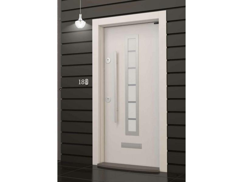 Входна врата Outdoor LP04 White