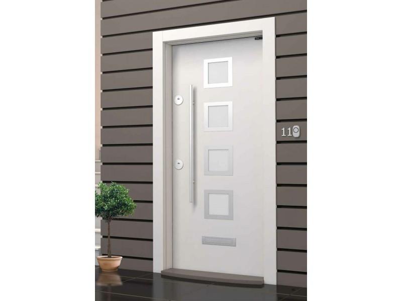 Входна врата Outdoor LP05 White