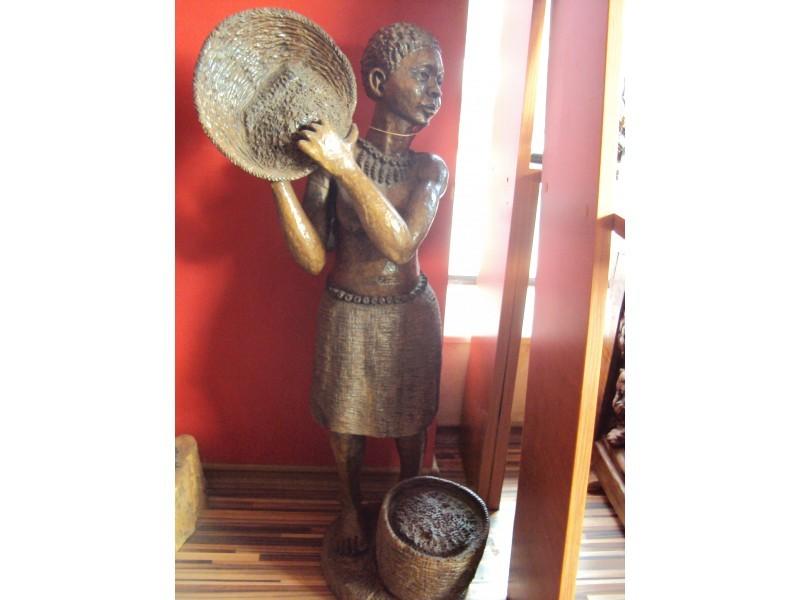 """Статуетка """"Африканка""""  ID 67975"""