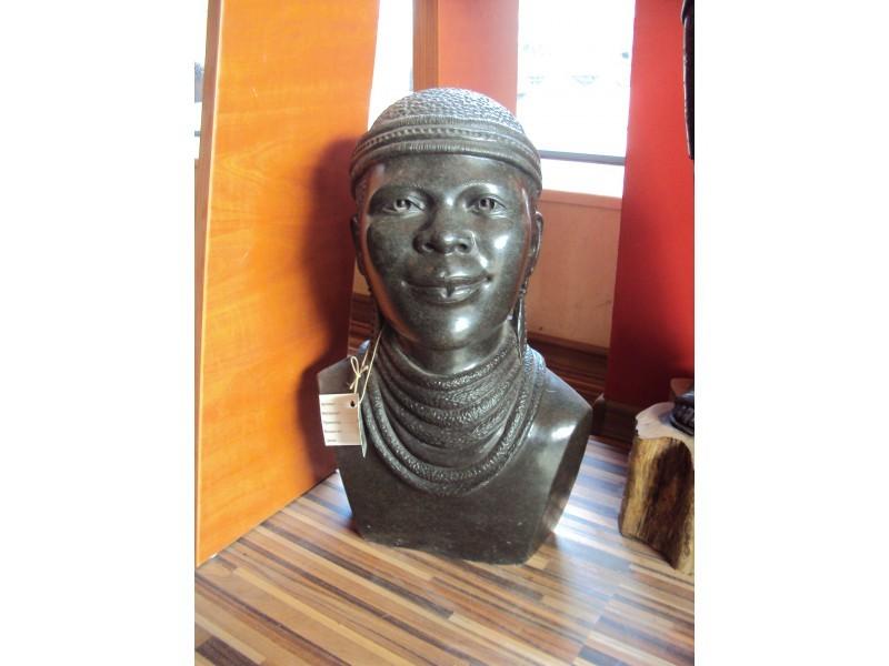 """Статуетка """" Африкански жител """"  ID 3874"""
