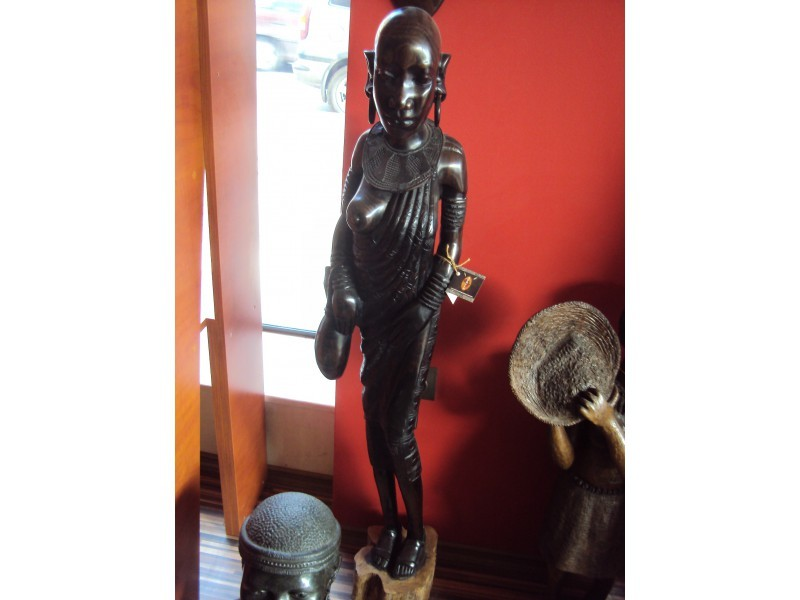 "Статуетка "" Африканска жена""  ID 976666"