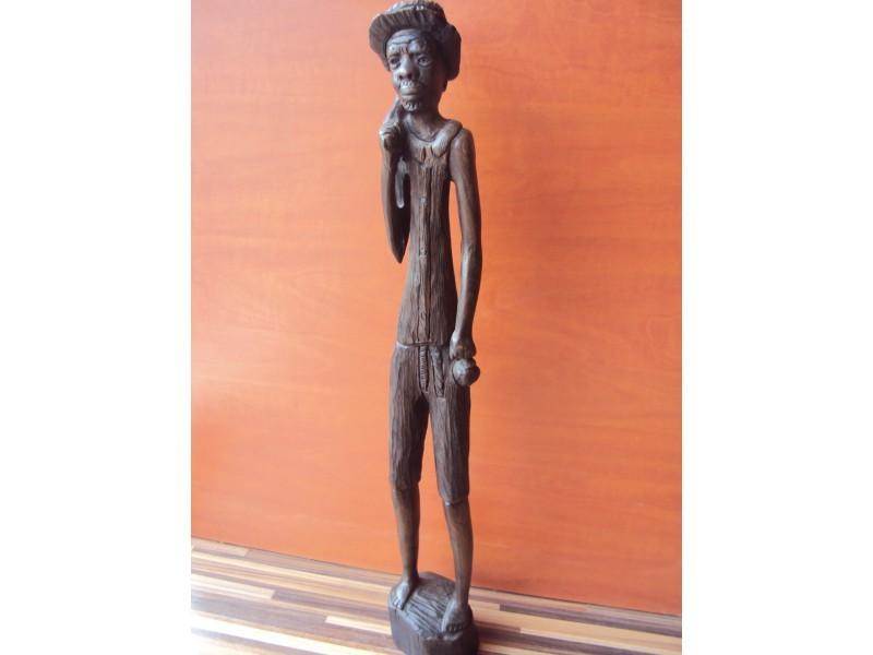 "Статуетка ""Африкански коренен жител""  ID 64574"