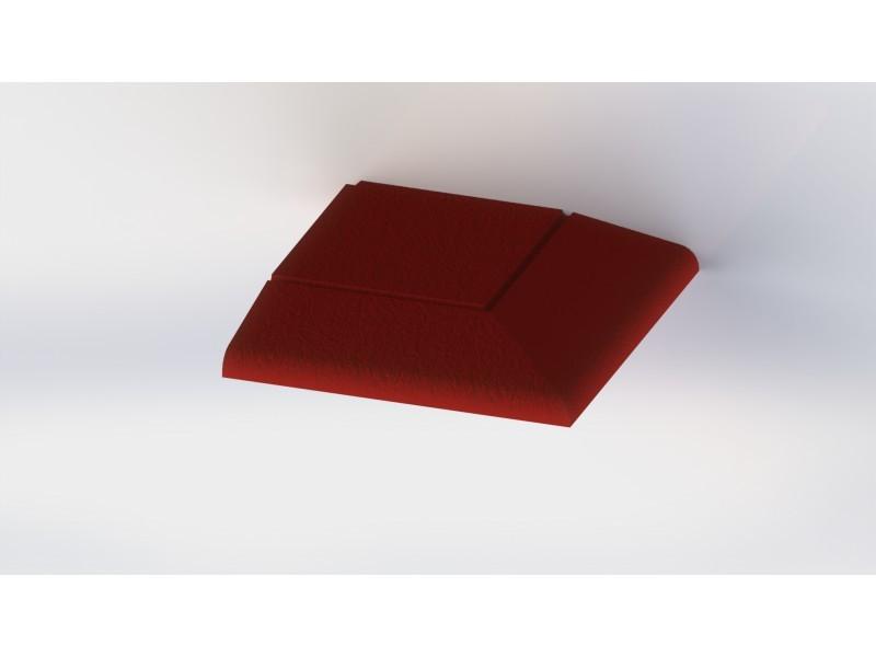 Каучукова плоча MB0007 Orange 17мм.