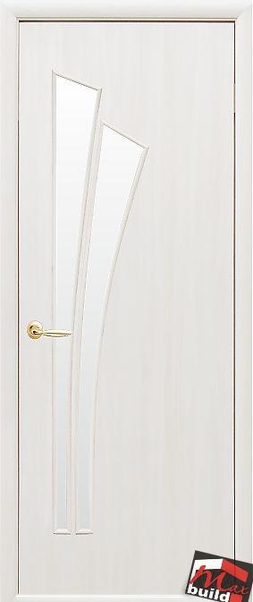 Интериорна врата Лилия – бял цвят