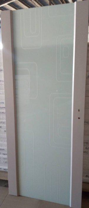 Интериорна врата (Руска) Интро остъклена (триплекс) -цвят Софт Сантяго