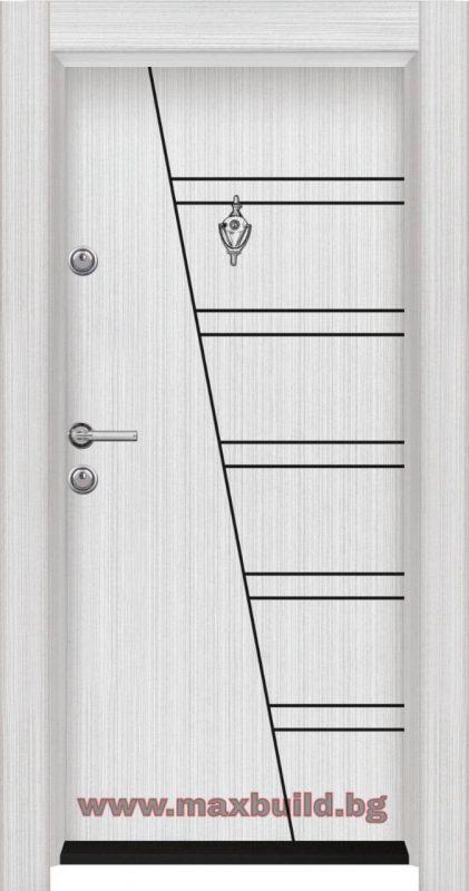 Турска входна врата старлайф М10 Бяла перла